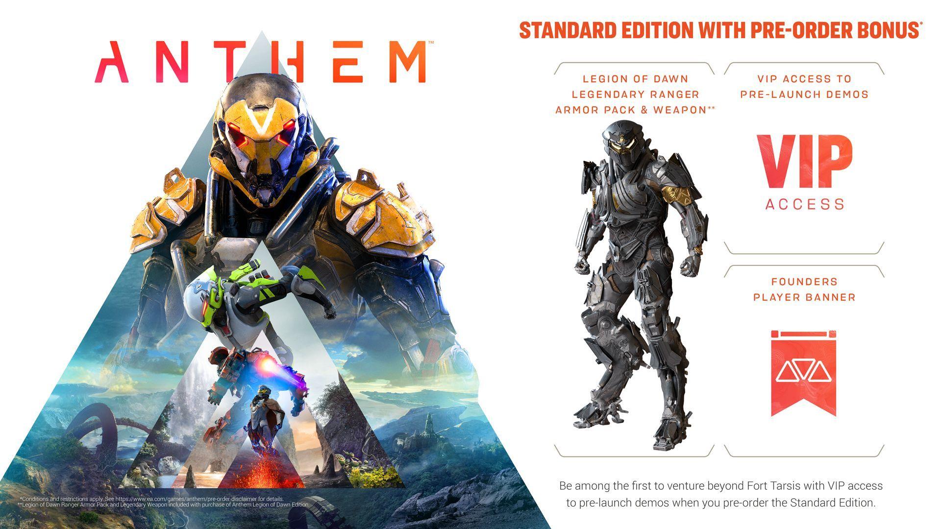 Anthem + Pre-order бонус (PC) - 10