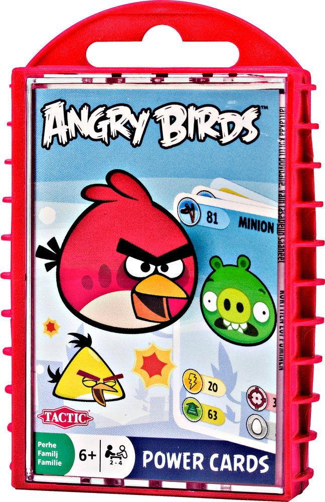 Детска игра с карти Tactic - Angry Birds - 1