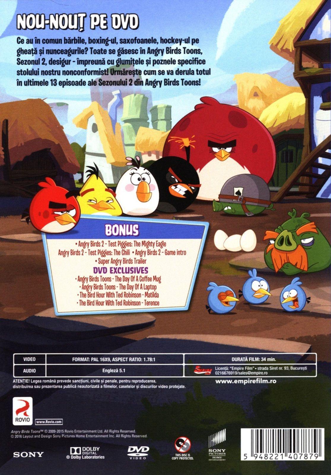 Angry Birds Toons - Сезон 2 - част 2 (DVD) - 2