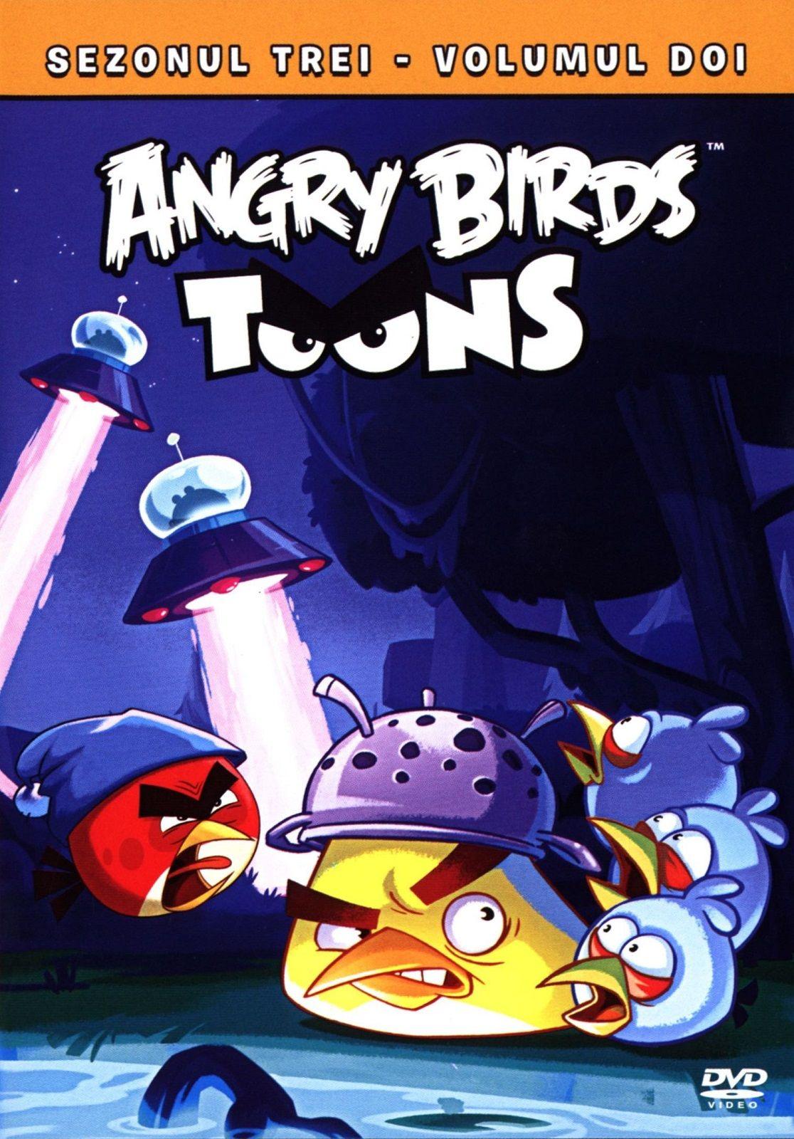Angry Birds Toons - Сезон 3 - част 2 (DVD) - 1