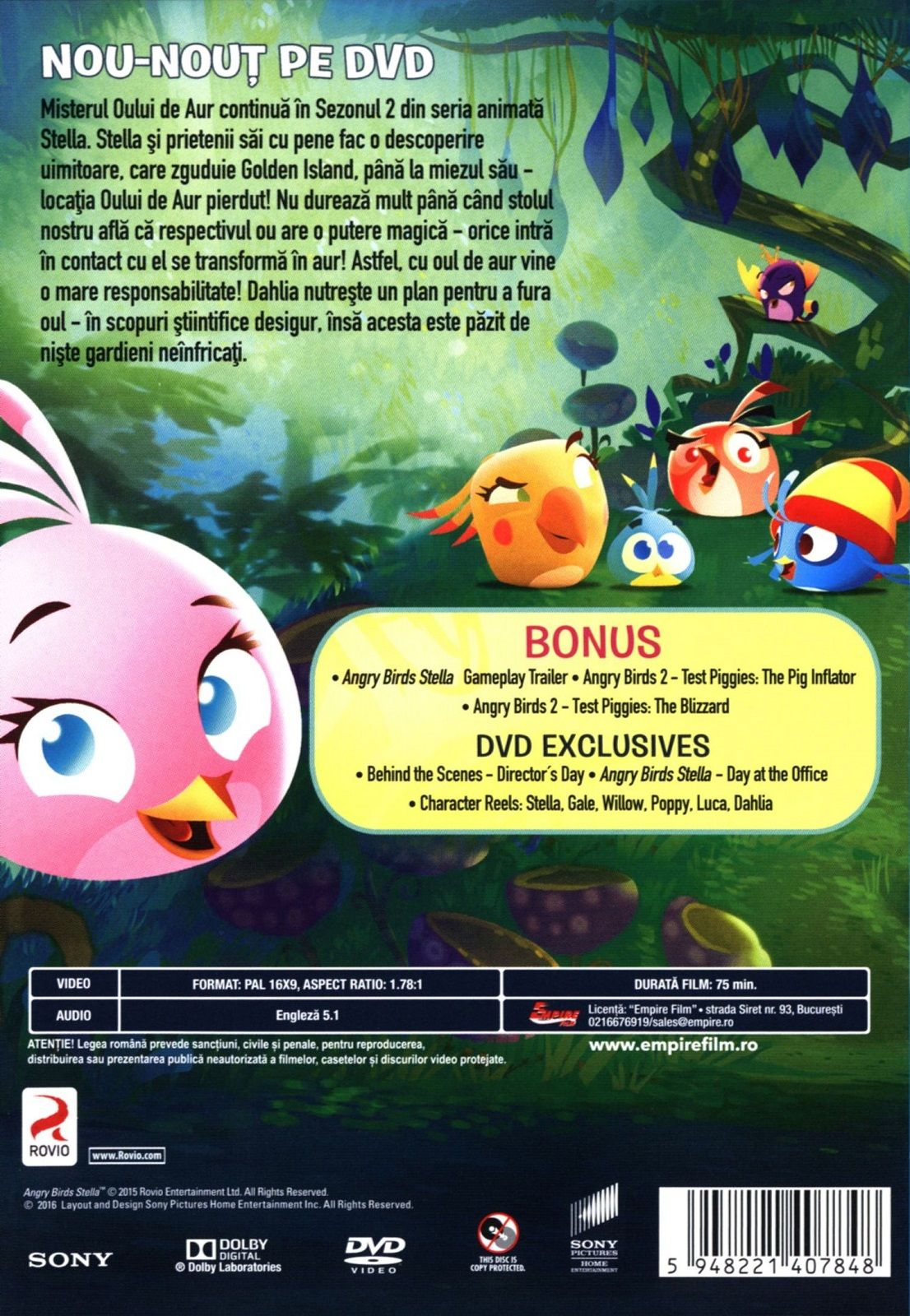 Angry Birds Стела - Втори сезон (DVD) - 2