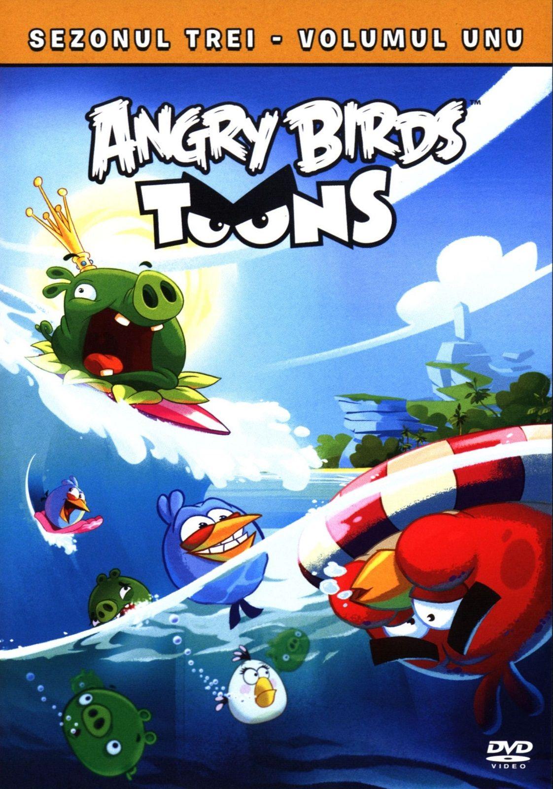 Angry Birds Toons - Сезон 3 - част 1 (DVD) - 1