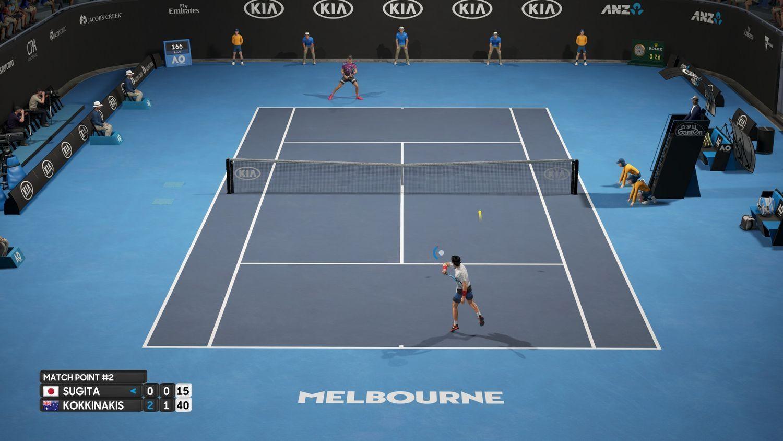 AO International Tennis (PS4) - 3