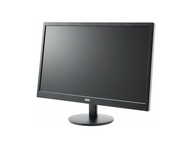 "AOC E2770SH, 27"" Wide TN LED, 1 ms, 20М:1 DCR, 300 cd/m2, 1920x1080 FullHD, D-Sub, DVI, HDMI, Speakers, Black - 2"