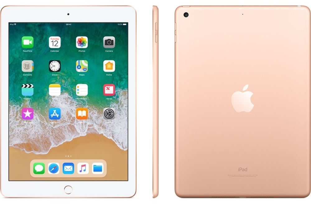 Таблет Apple 9,7-inch iPad 6 Cellular 32GB - Gold - 3