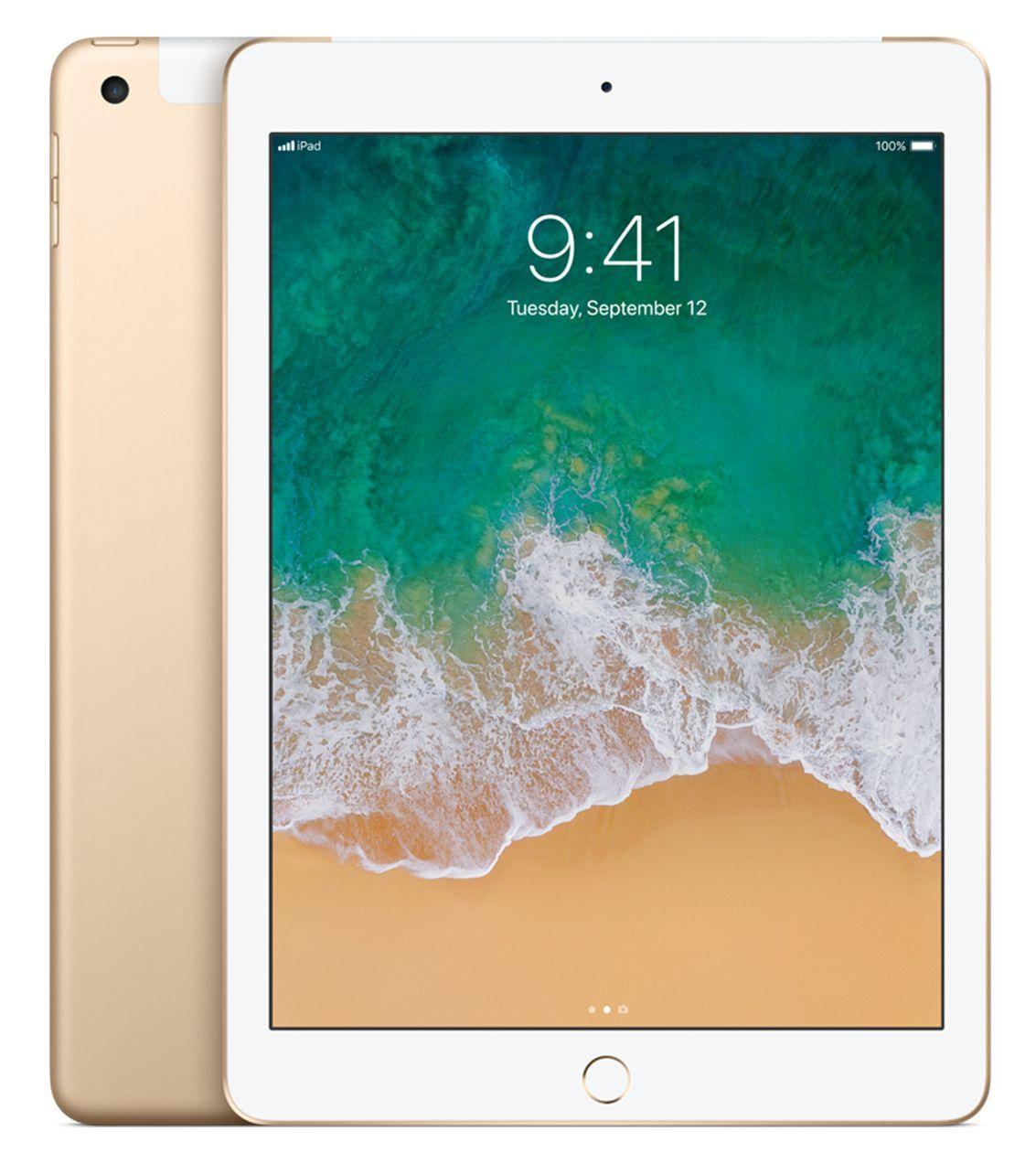 Таблет Apple 9,7-inch iPad 6 Cellular 32GB - Gold - 1
