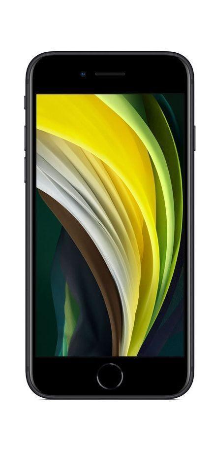 Смартфон Apple iPhone SE - 2nd gen, 128GB, черен - 2