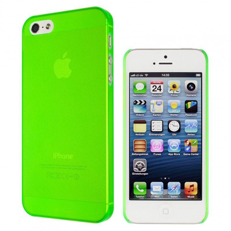 Калъф Artwizz SeeJacket Clip Neon за iPhone 5, Iphone 5s -  зелен - 2