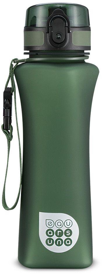 Бутилка за вода Ars Una - Зелен мат, 500 ml - 1