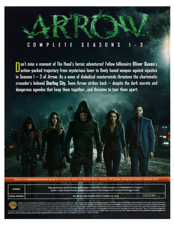Arrow - Seasons 1-3 (Blu-Ray) - 3