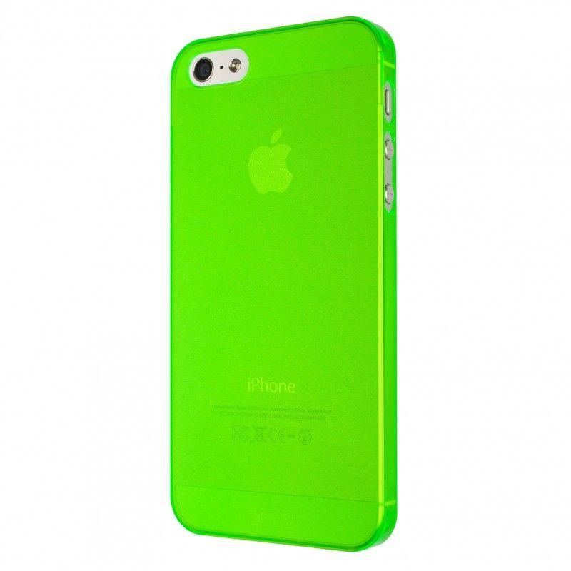 Калъф Artwizz SeeJacket Clip Neon за iPhone 5, Iphone 5s -  зелен - 4