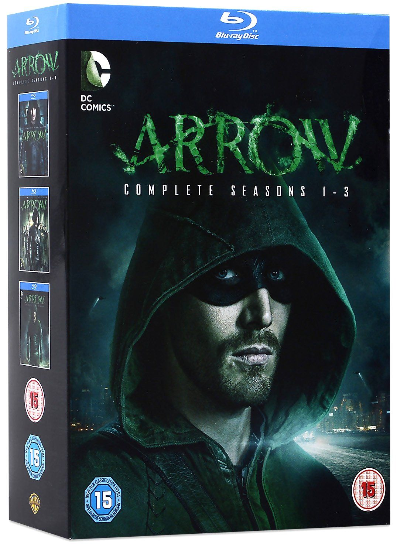 Arrow - Seasons 1-3 (Blu-Ray) - 1