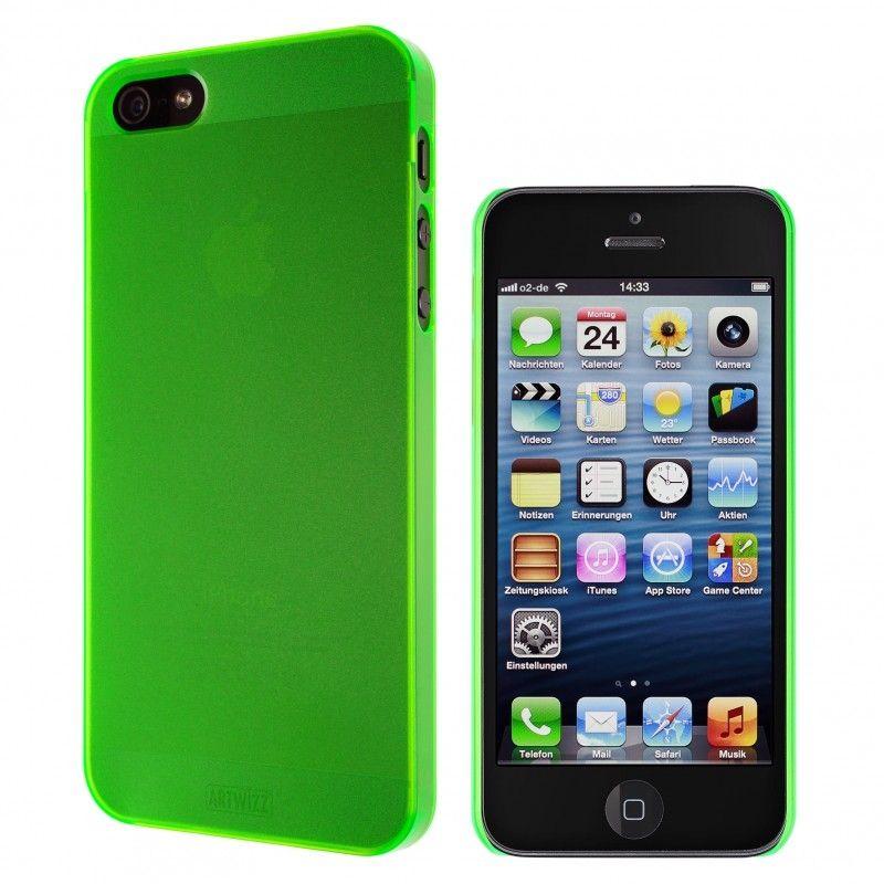 Калъф Artwizz SeeJacket Clip Neon за iPhone 5, Iphone 5s -  зелен - 3