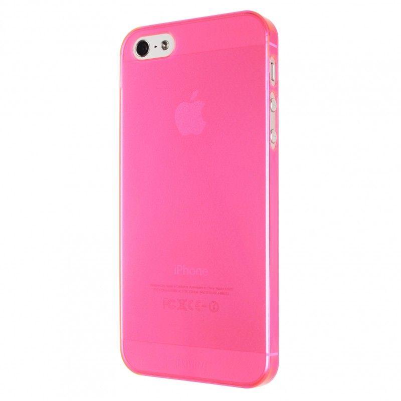 Калъф Artwizz SeeJacket Clip Neon за iPhone 5, Iphone 5s -  розов-прозрачен - 4