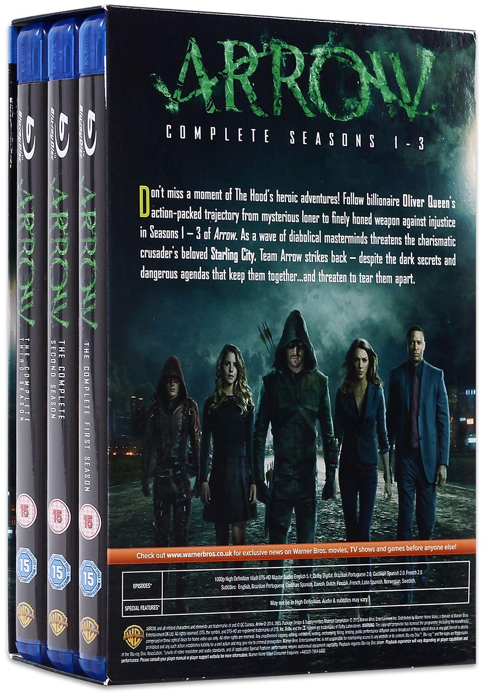 Arrow - Seasons 1-3 (Blu-Ray) - 2