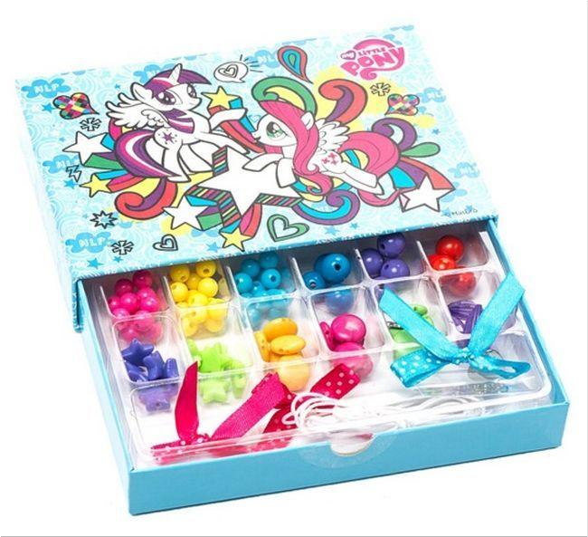 Творчески комплект Revontuli Toys Oy - Направи си сам бижута, Моето малко пони - 1