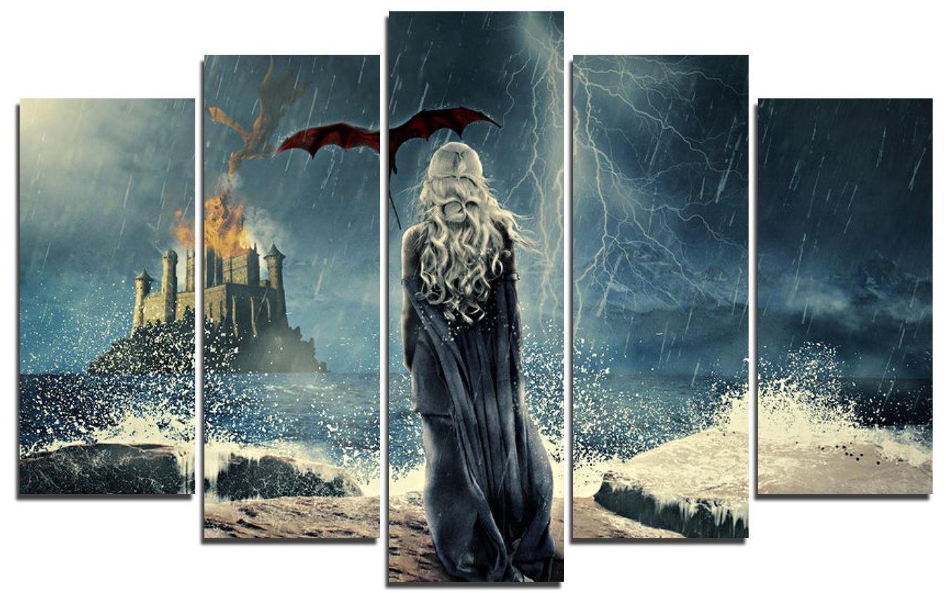 Арт панел - Game of Thrones - Daenerys Targaryen - 1