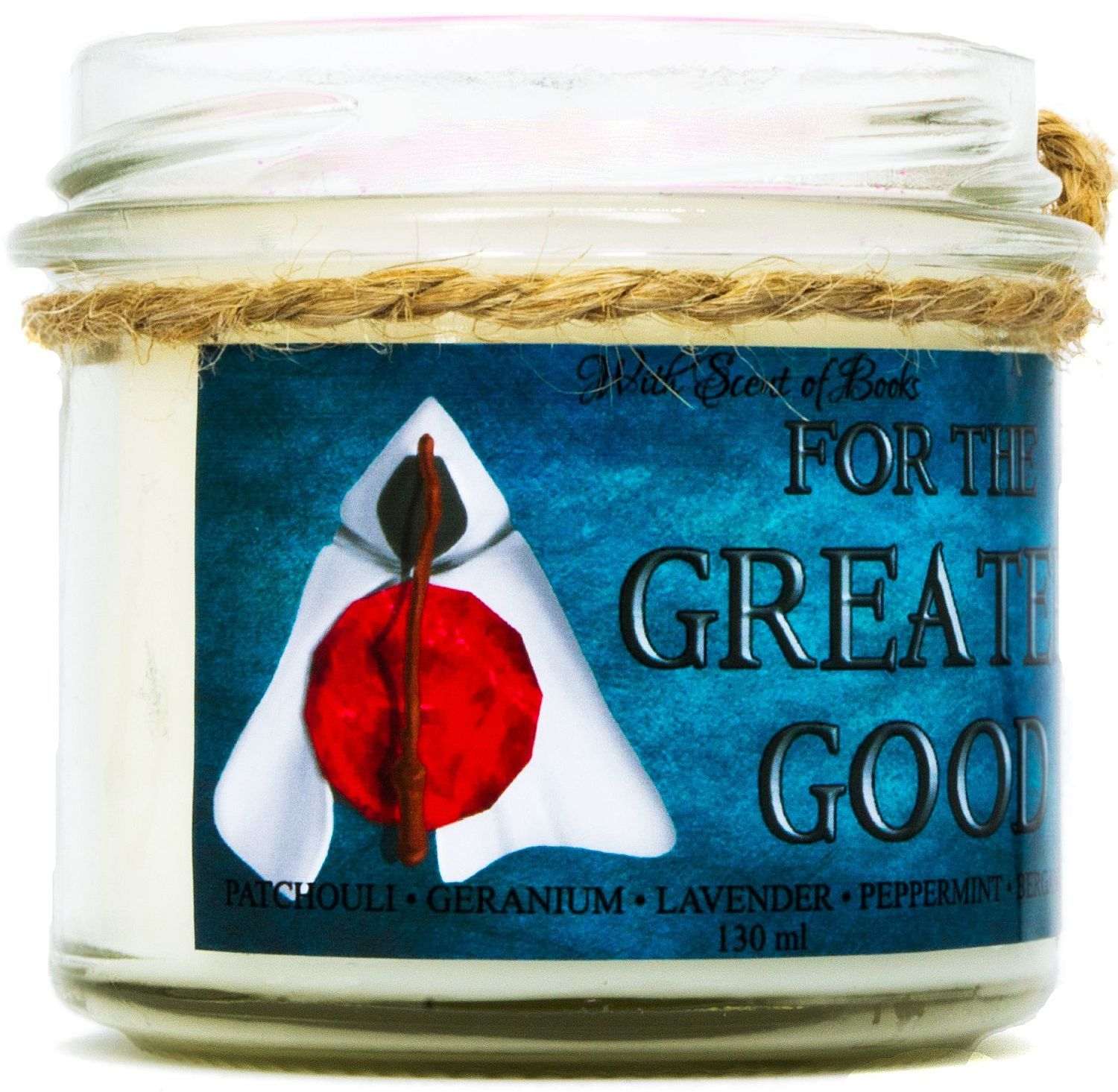 Ароматна свещ - For the Greater Good, 130 ml - 2