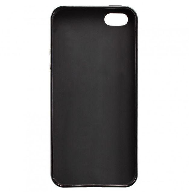 Калъф Artwizz SeeJacket TPU за iPhone 5, Iphone 5s -  черен - 2