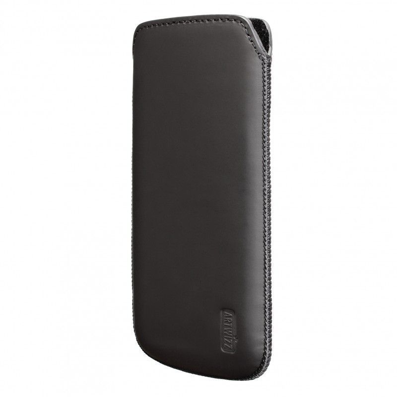 Artwizz Leather Pouch за iPhone 5 -  черен-мат - 1
