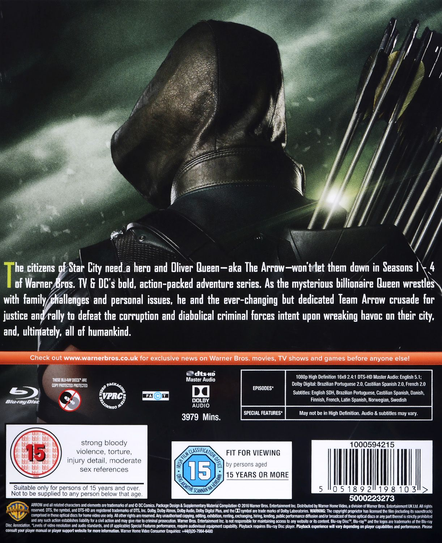 Arrow Season 1-4 (Blu-Ray) - 4