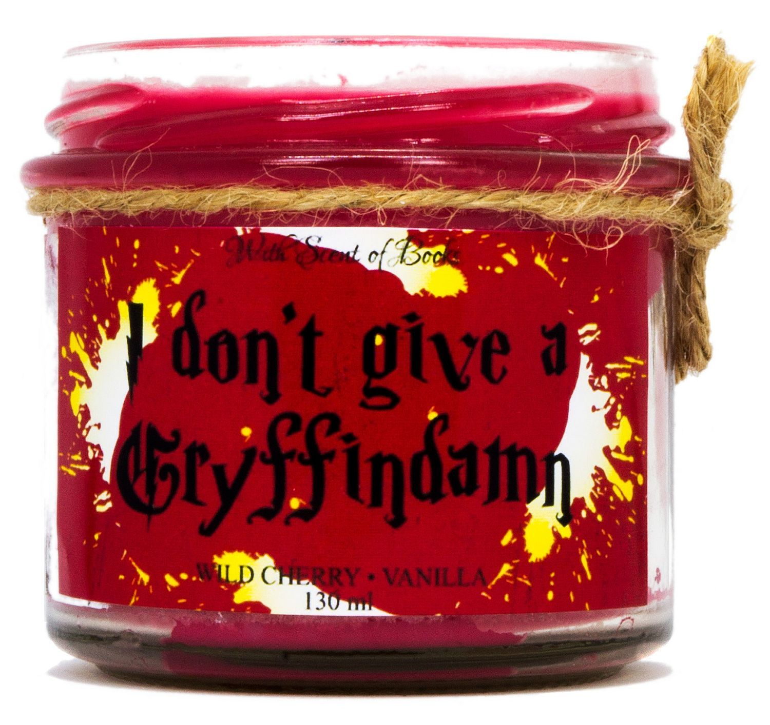 Ароматна свещ - I don't give a Gryffindamn, 130 ml - 1
