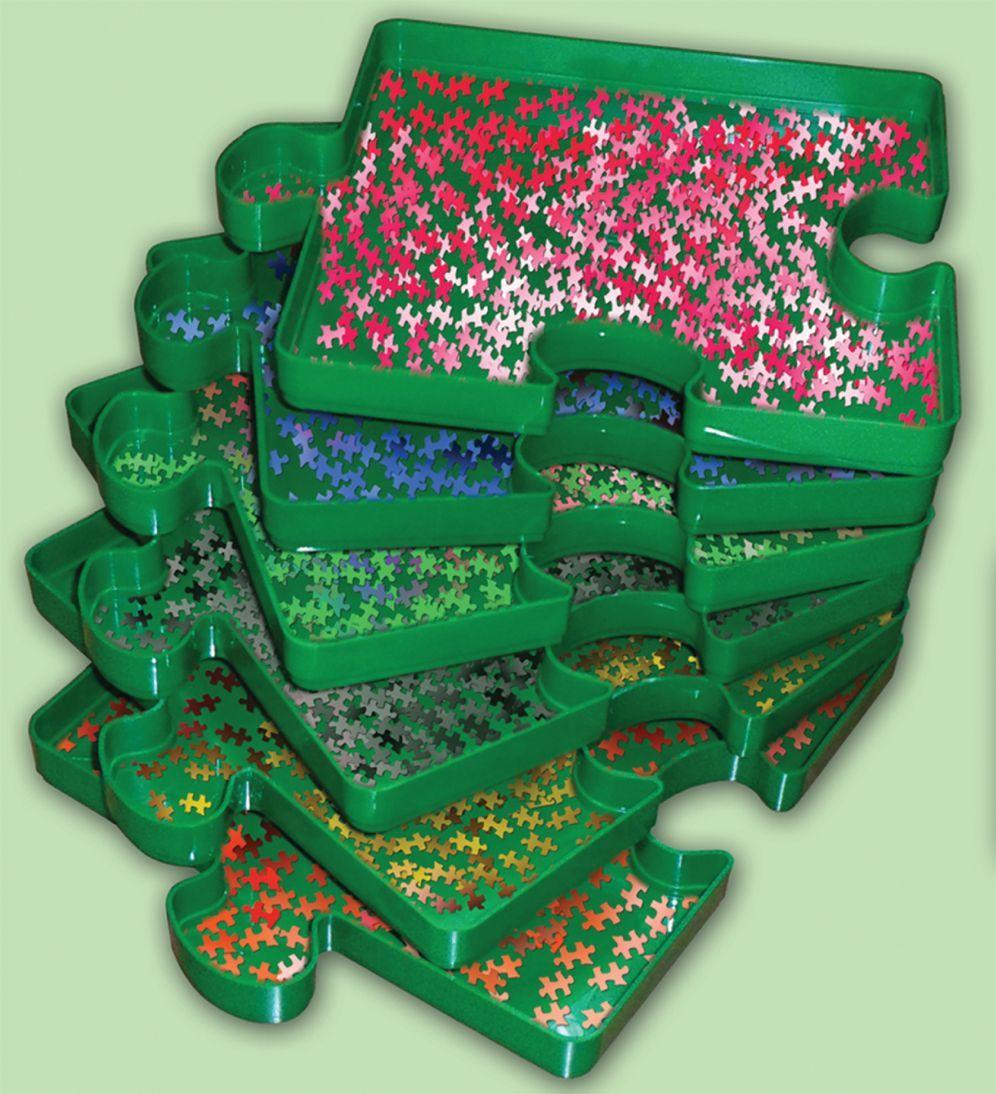 Комплект сортери за пъзелни части Art Puzzle - 6 броя - 2