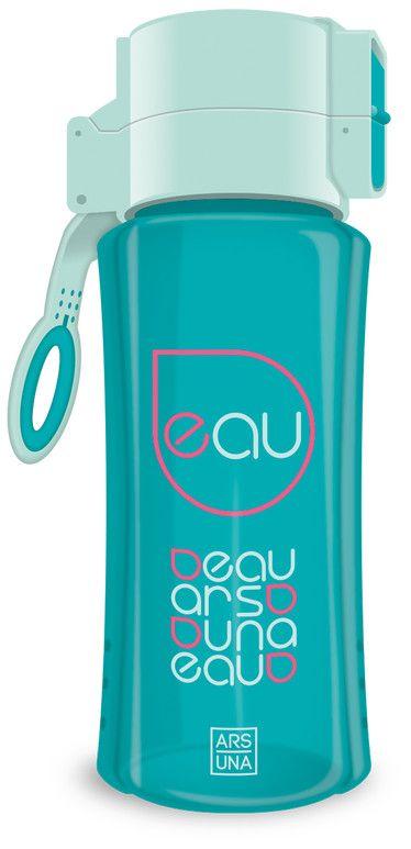 Бутилка за вода Ars Una - Тюркоаз, 450 ml - 1