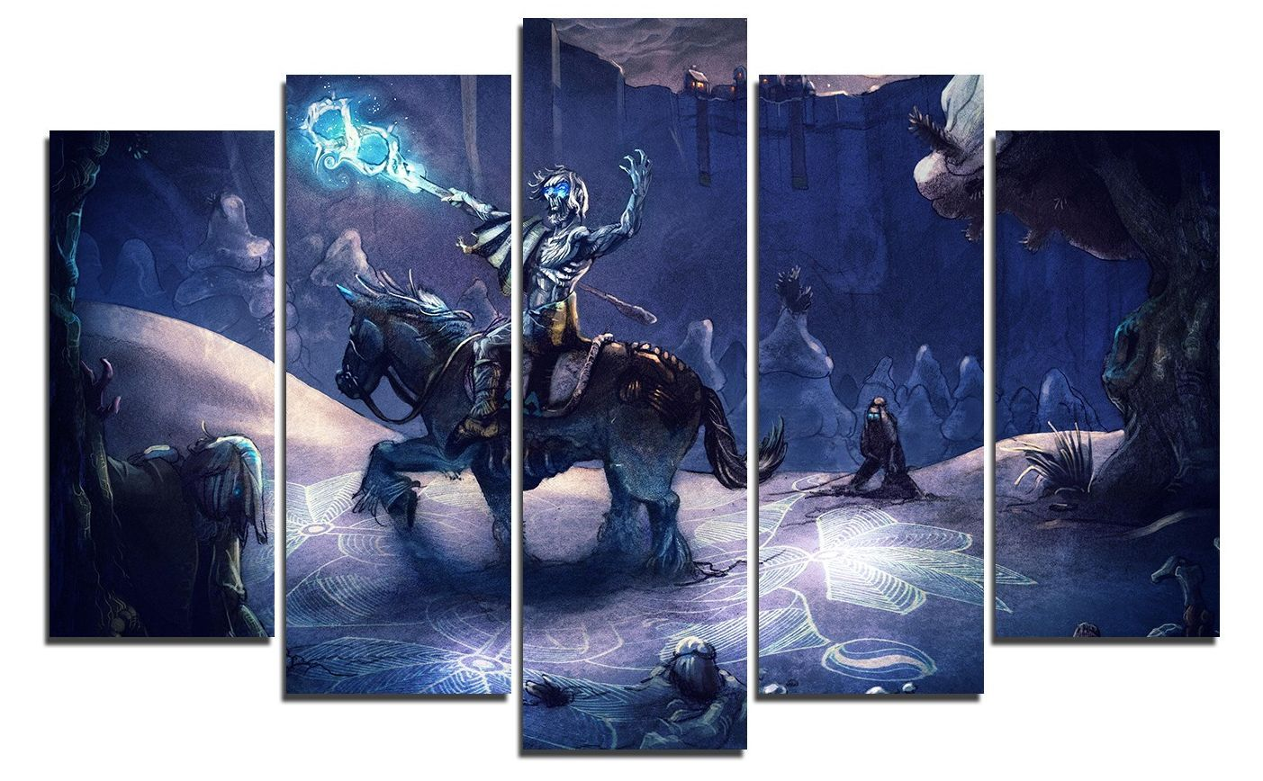 Арт панел - Game of Thrones - White Walkers - 1