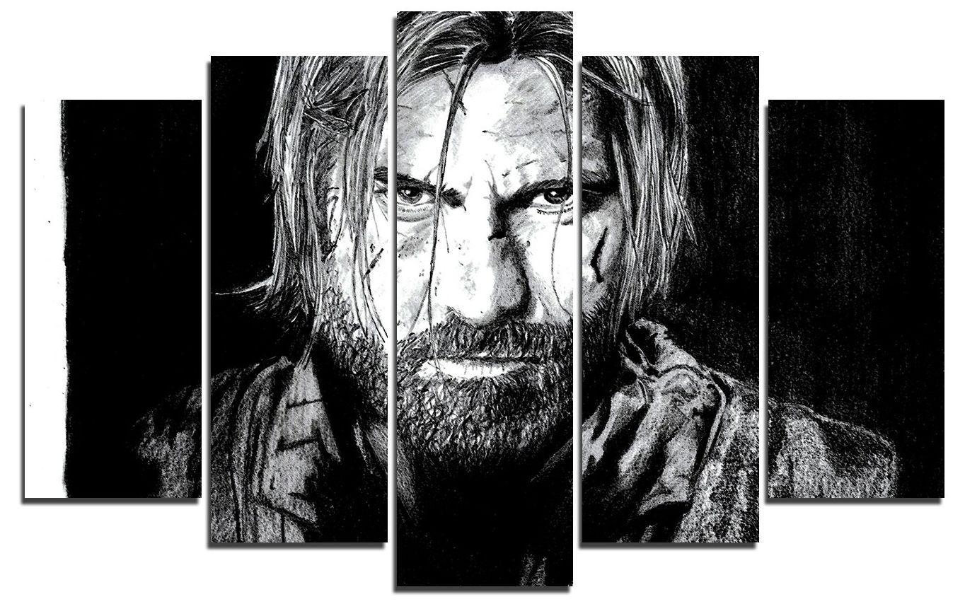 Арт панел - Game of Thrones - Ser Jaime Lannister - 1