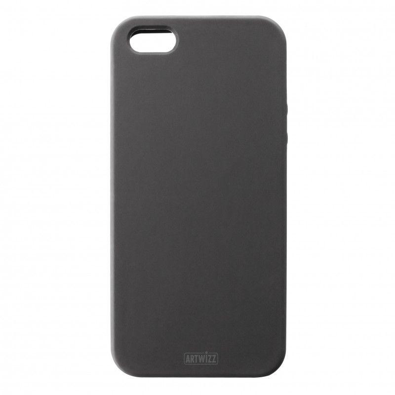 Калъф Artwizz SeeJacket Silicone за iPhone 5, Iphone 5s -  черен - 1