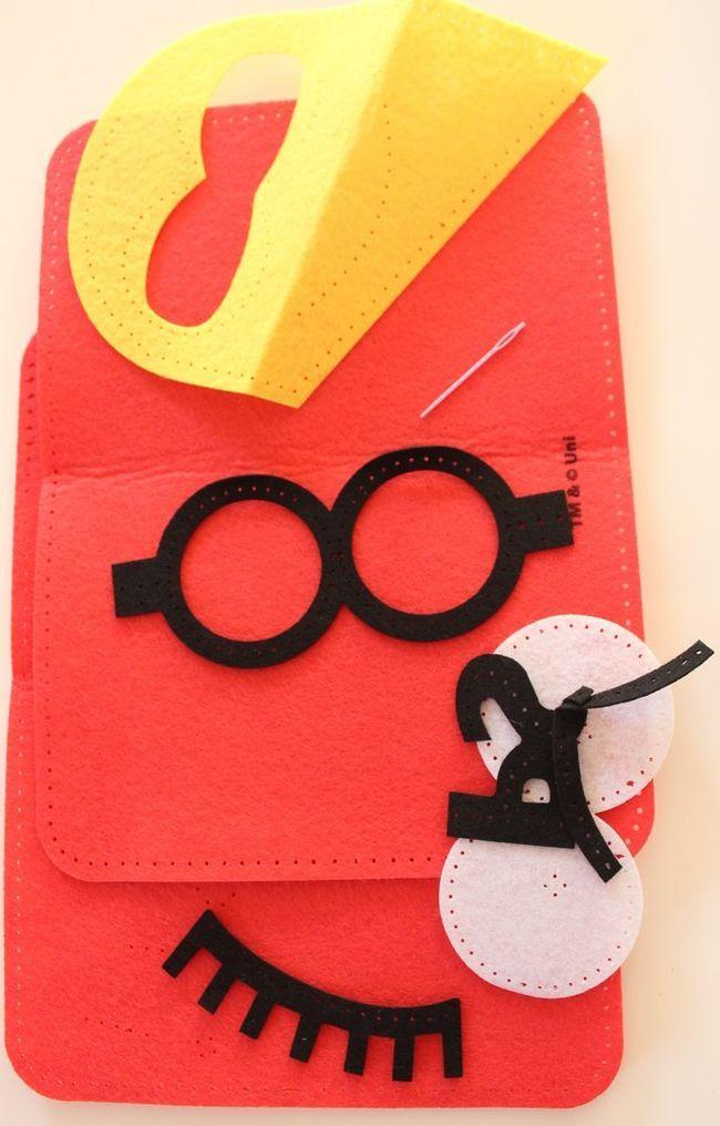 Творчески комплект Revontuli Toys Oy - Уший сам, калъф за таблет с Миньоните - 2