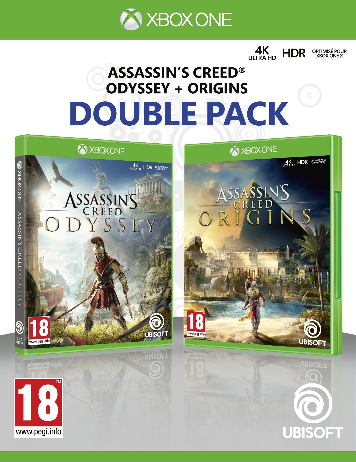 Assassin's Creed Odyssey + Assassin's Creed Origins (Xbox One) - 1
