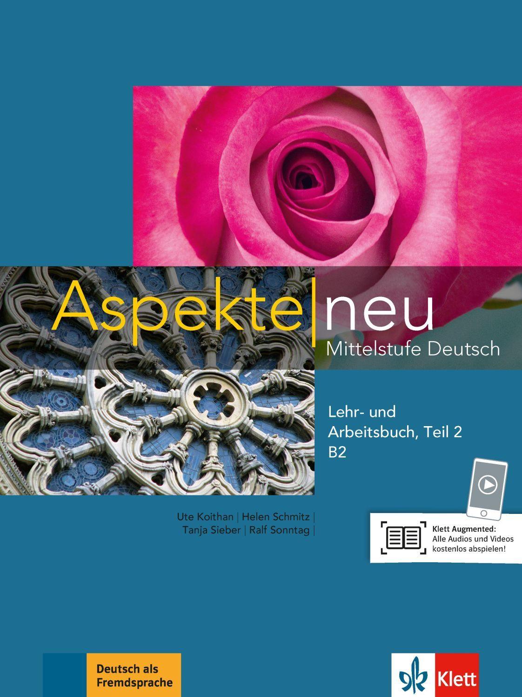 Aspekte neu B2 Lehr-und Arbeitsbuch Teil 2 mit CD - 1