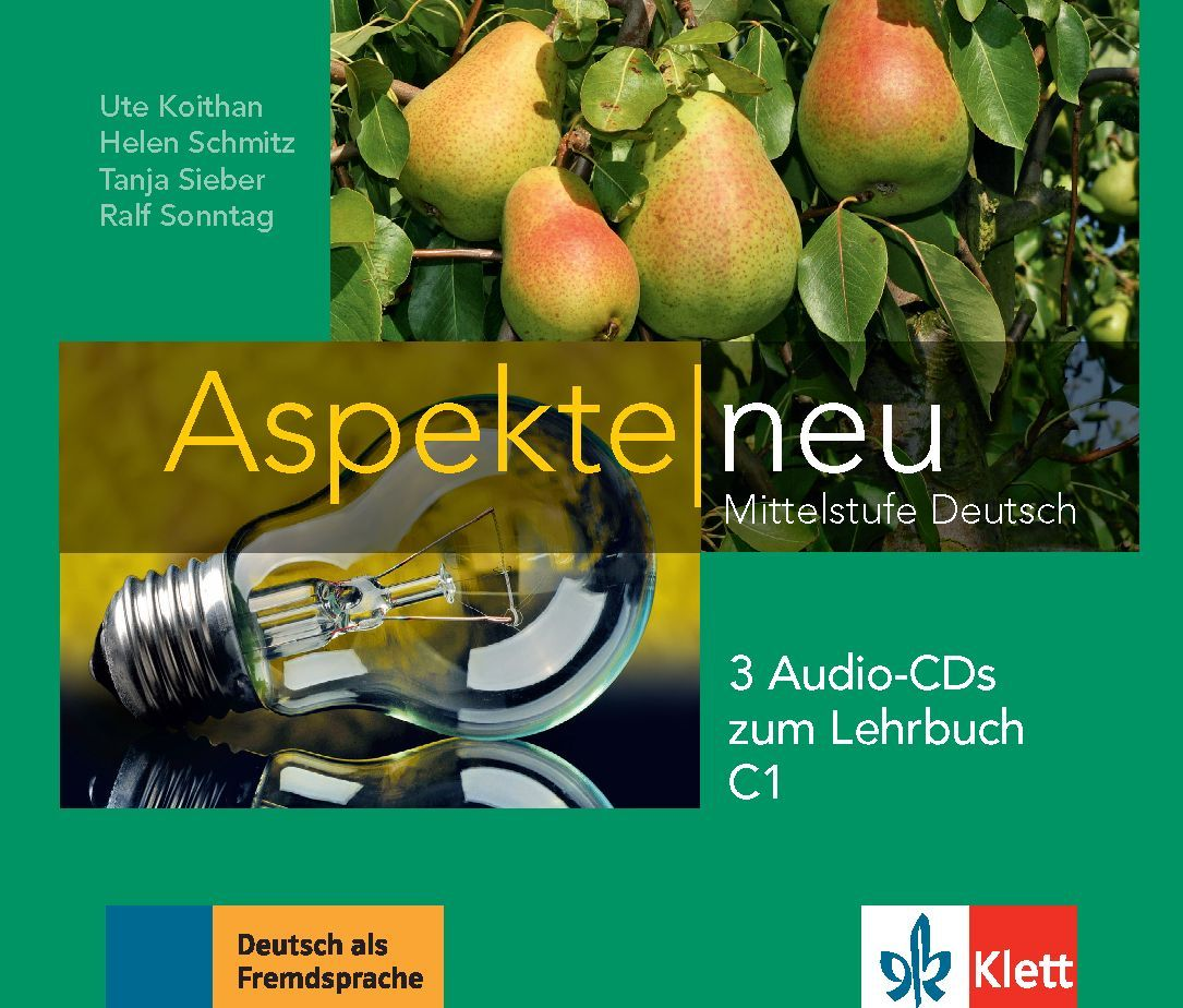 Aspekte Neu C1: 3 Audio-CDs / Немски език - ниво С1: 3 Audio-CDs към учебника - 1