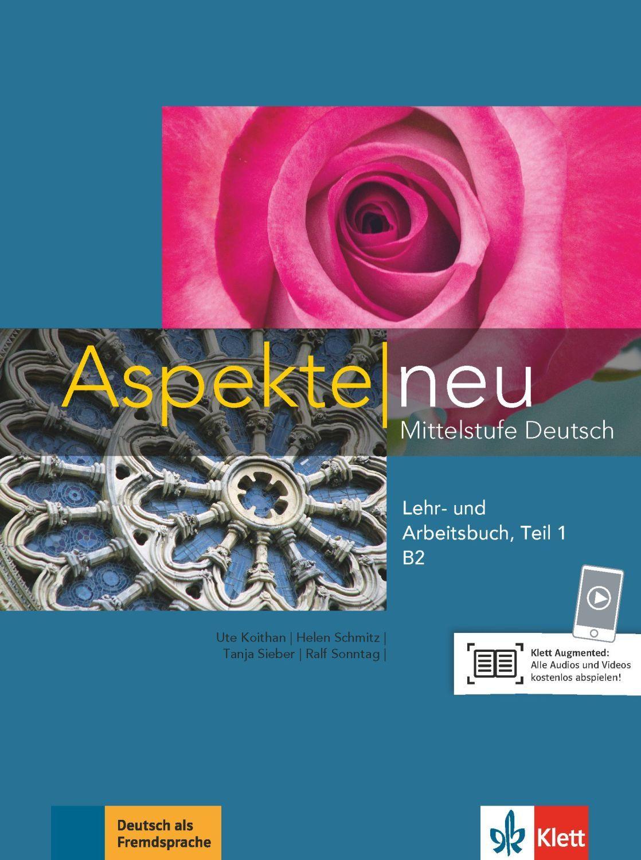 Aspekte neu B2 Lehr-und Arbeitsbuch Teil 1 mit CD - 1
