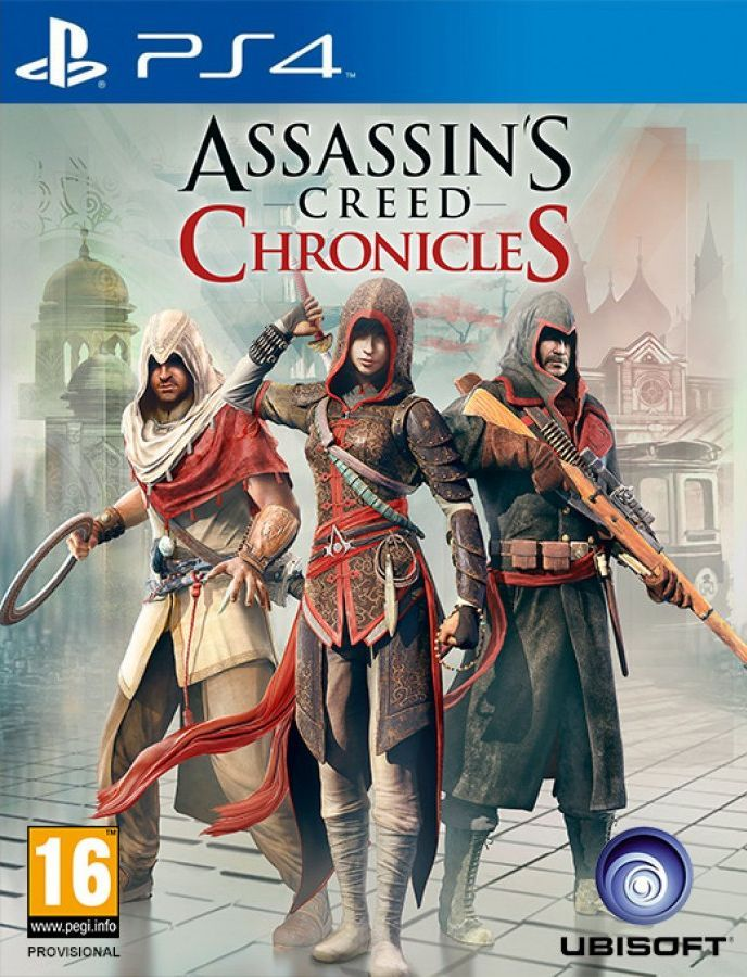 Assassin's Creed Chronicles Pack (PS4) - 1