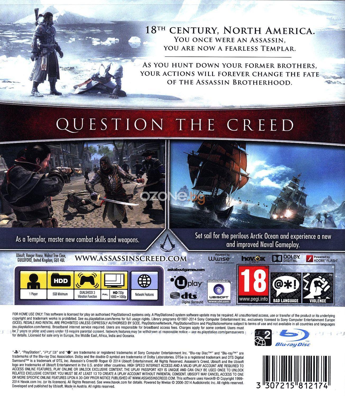 Assassin's Creed Rogue - Essentials (PS3) - 5