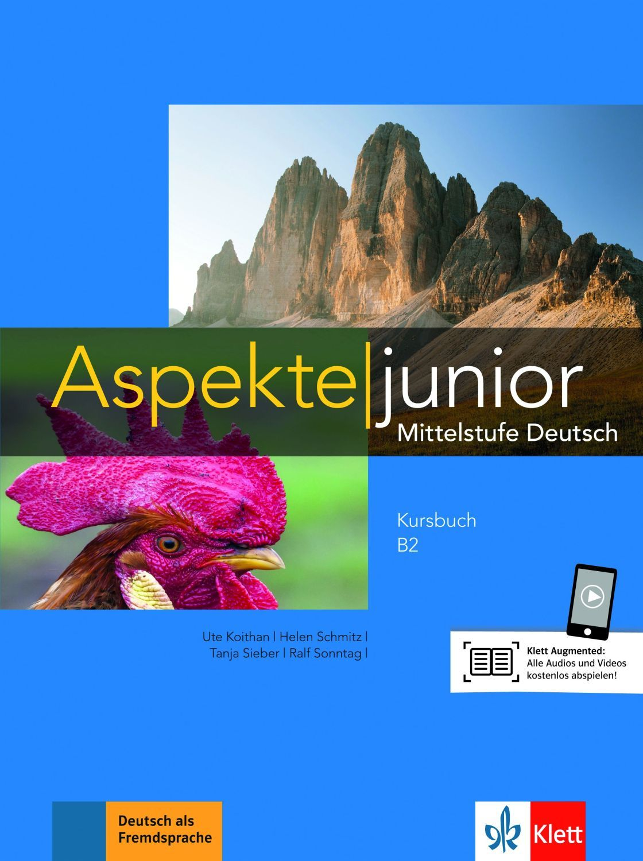 Aspekte junior B2 Kursbuch mit Audios zum Download - 1