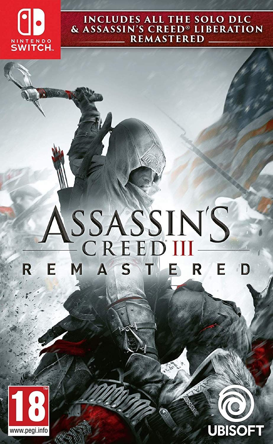 Assassin's Creed III Remastered + All Solo DLC & Assassin's Creed Liberation (Nintendo Switch) - 1