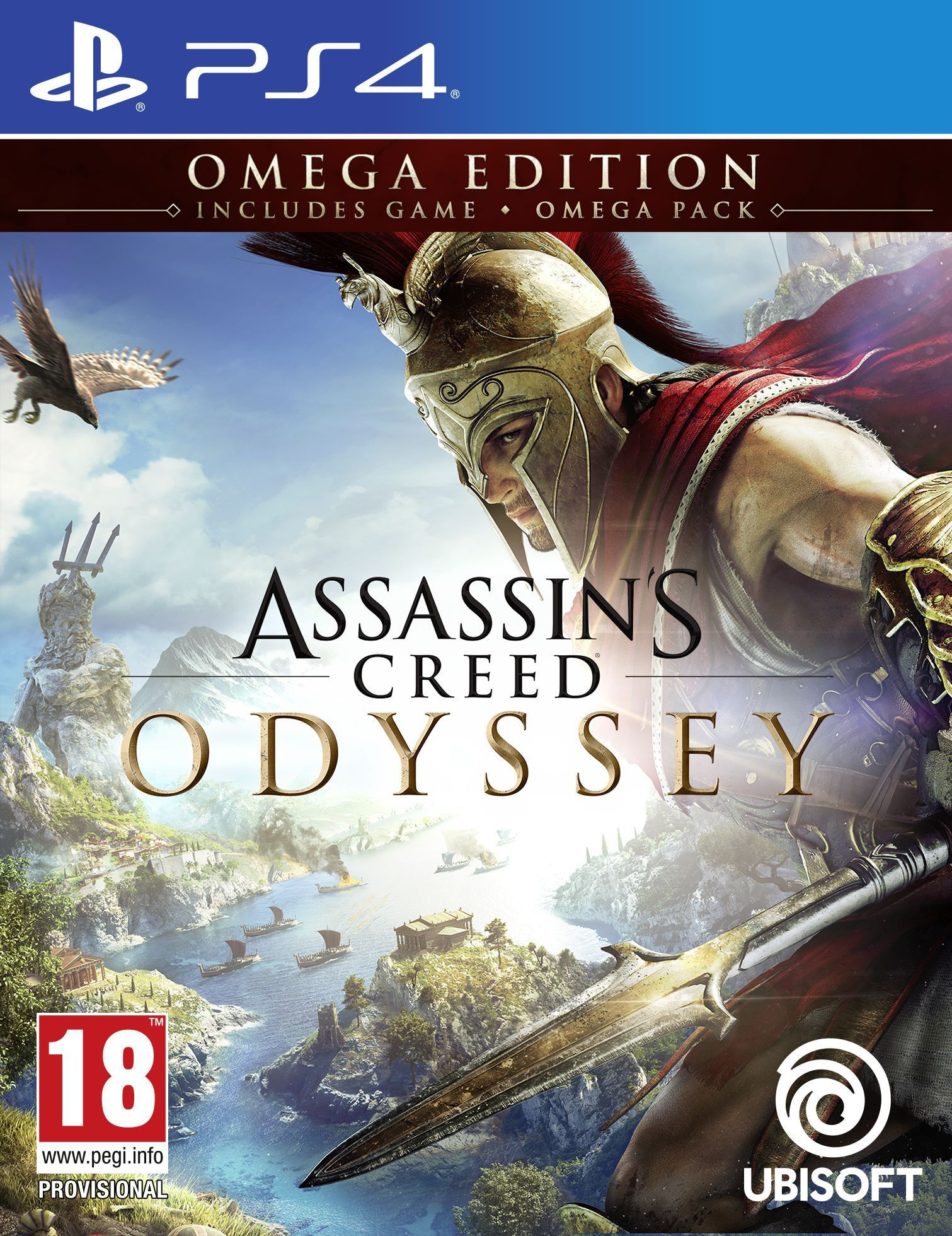 Assassin's Creed Odyssey Omega Edition (PS4) - 1