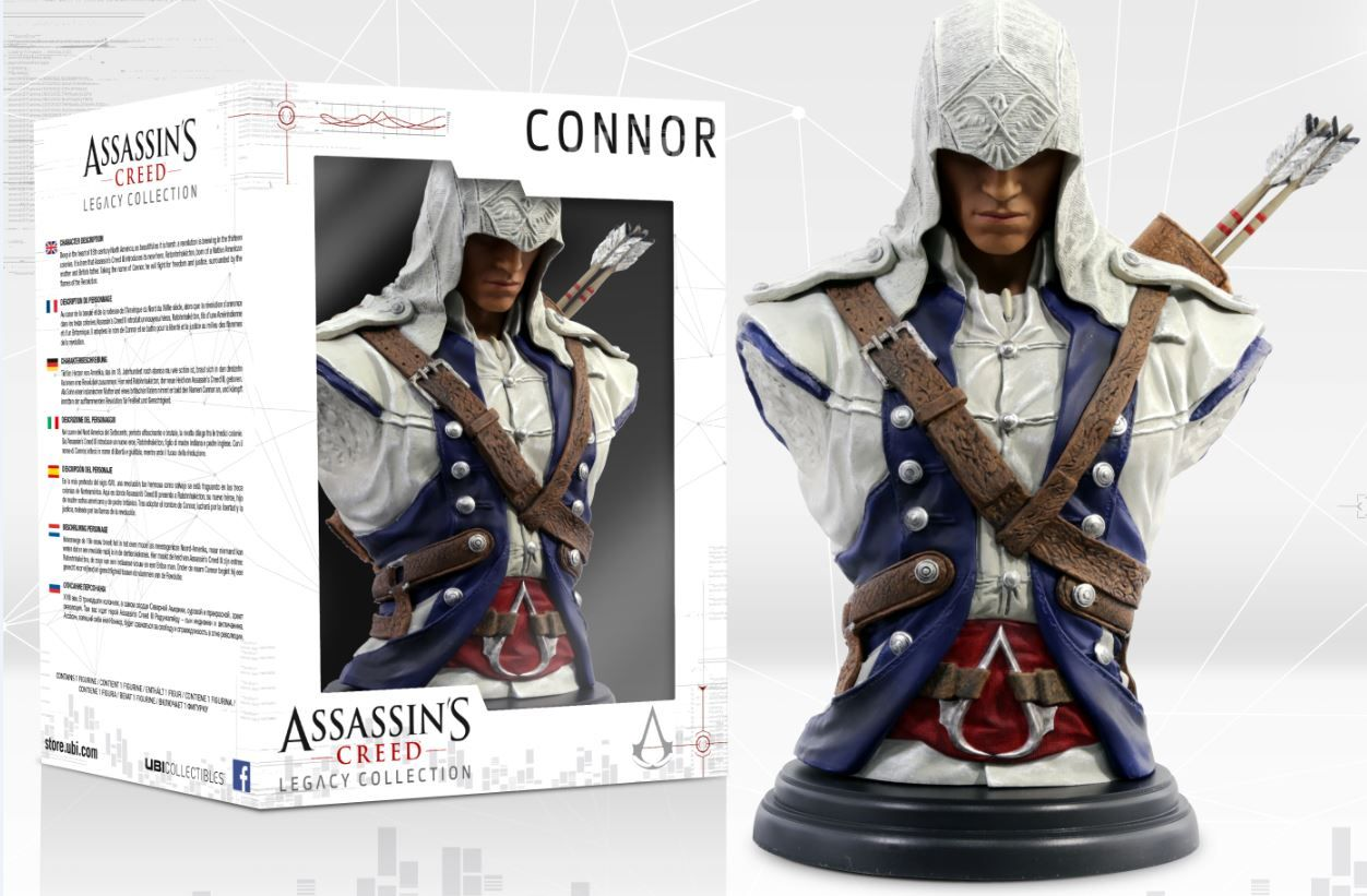 Фигура Assassin's Creed - Legacy Collection: Connor Bust - 6