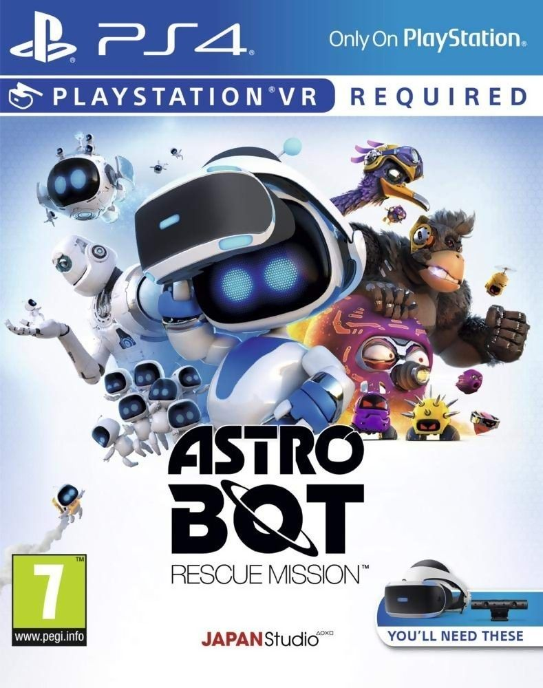 Astro Bot Rescue Mission (PS4 VR) - 1