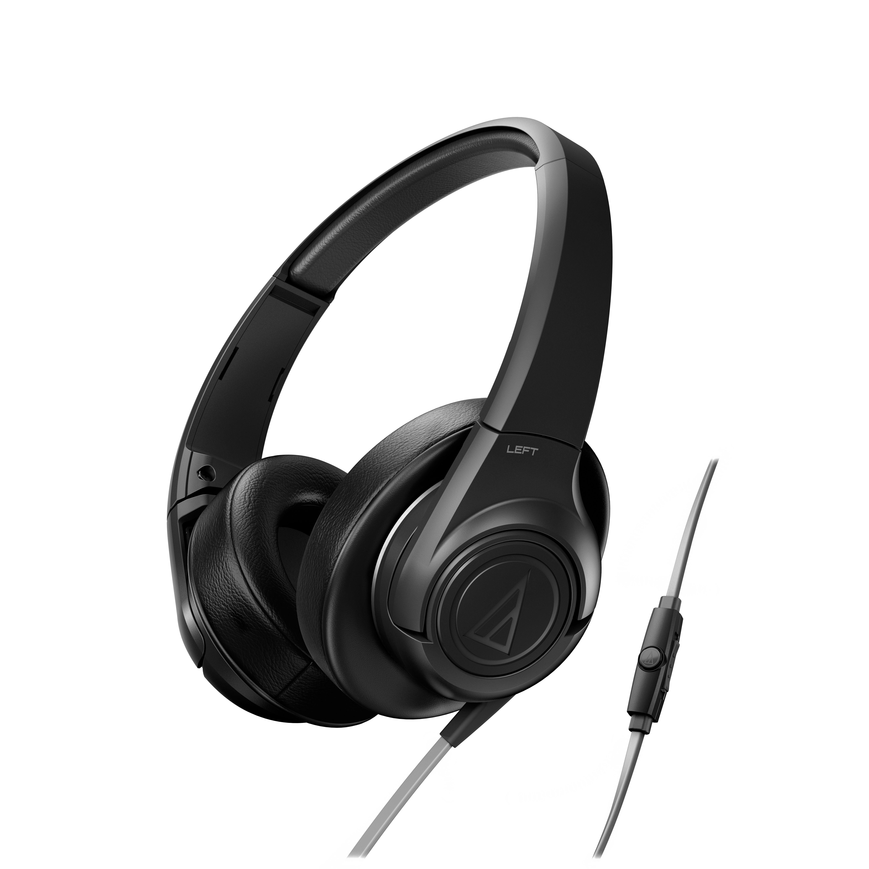Слушалки Audio-Technica ATH-AX3iSBK - черни - 1