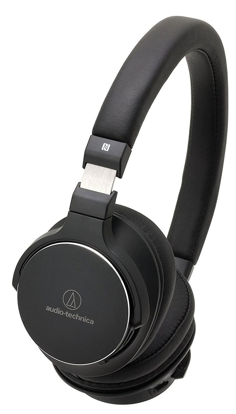 Слушалки с микрофон Audio-Technica ATH-SR5BTBK - 1