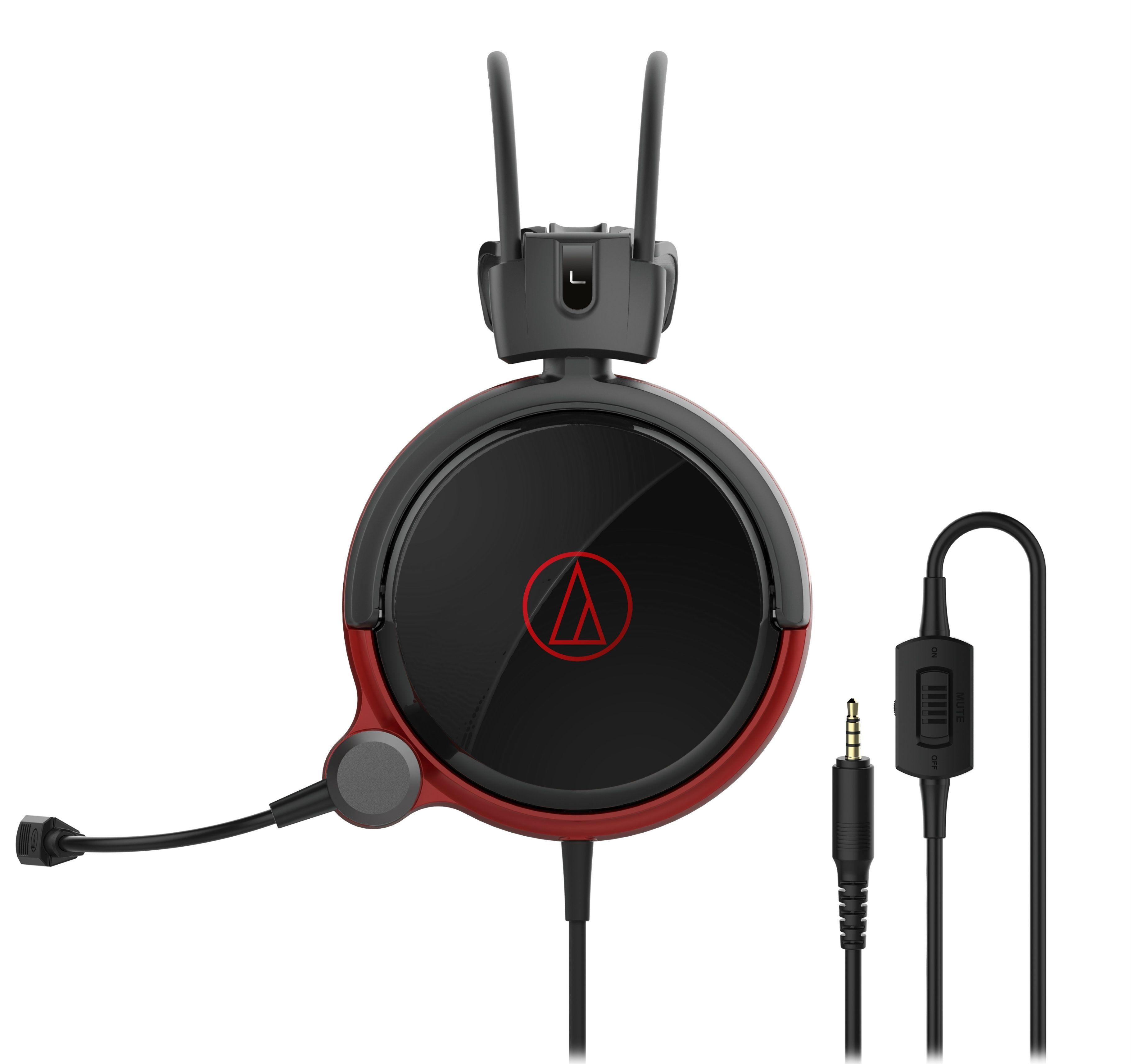 Гейминг слушалки Audio-Technica - ATH-AG1X, hi-fi, черни - 1