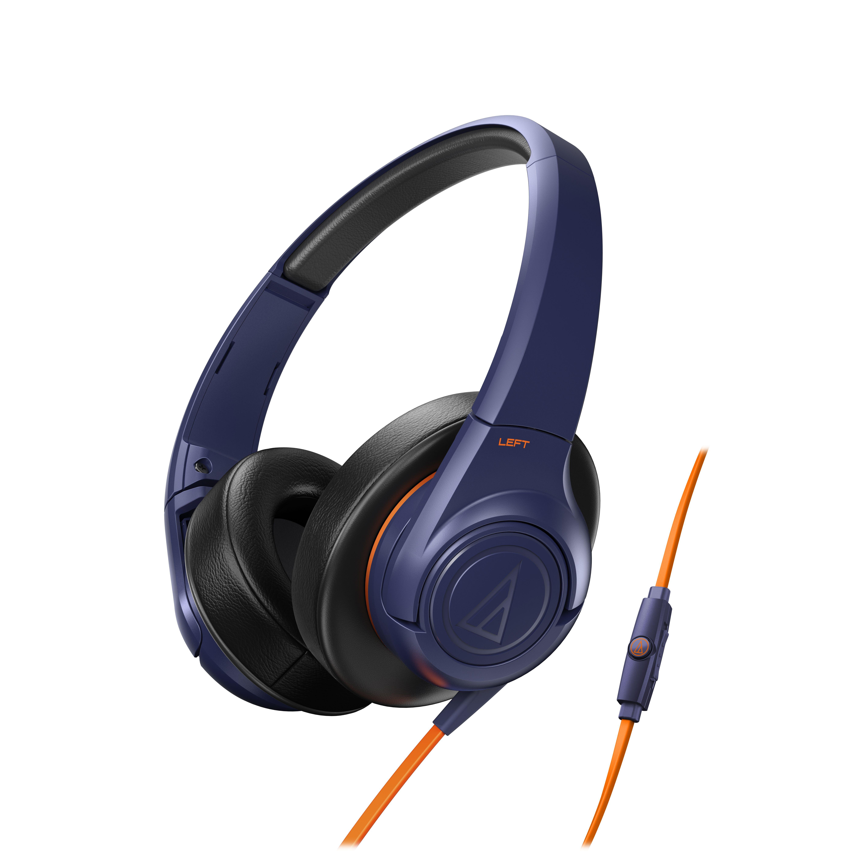 Слушалки Audio-Technica ATH-AX3iSNV - сини - 1