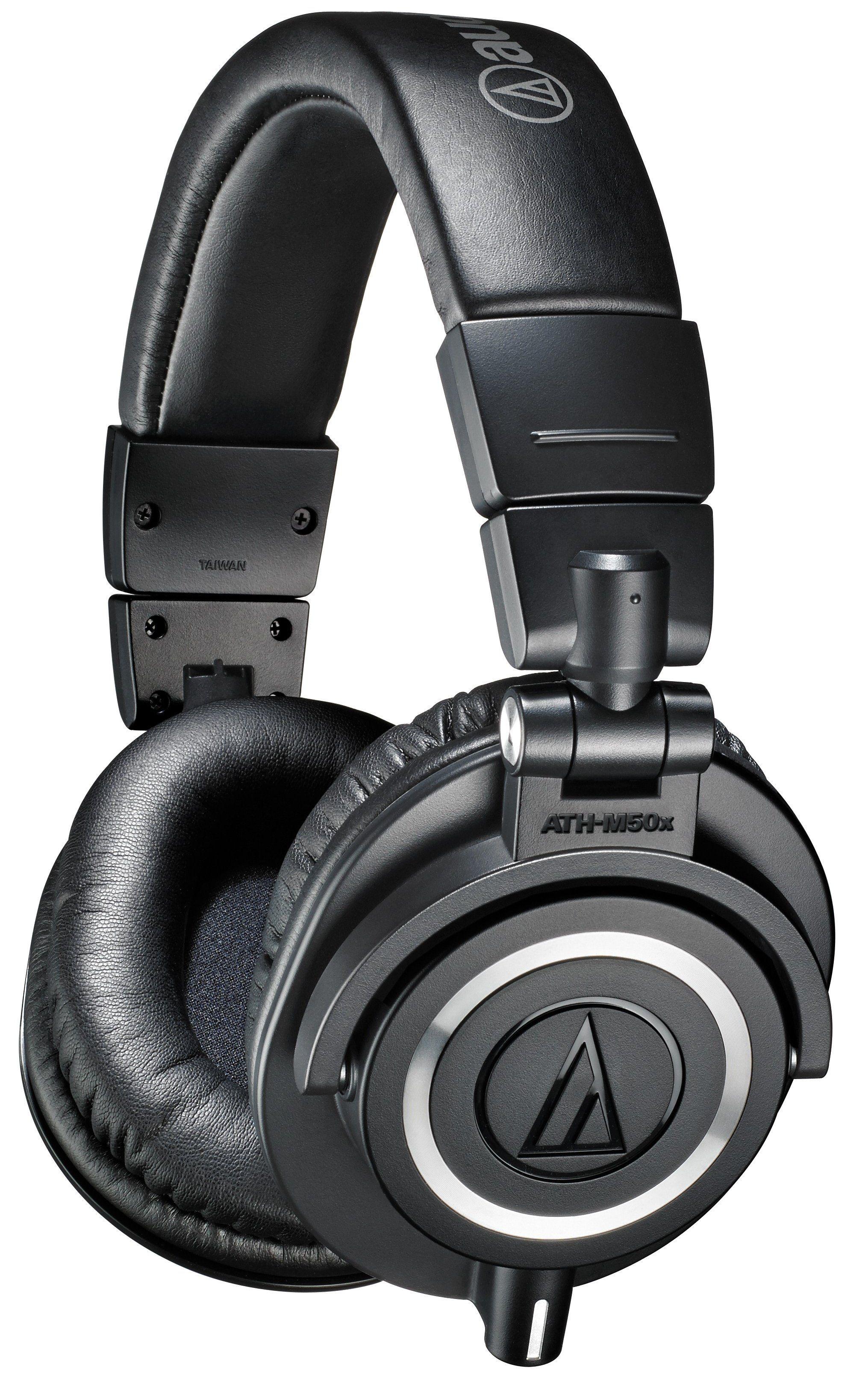 Слушалки Audio-Technica ATH-M50X - черни - 1