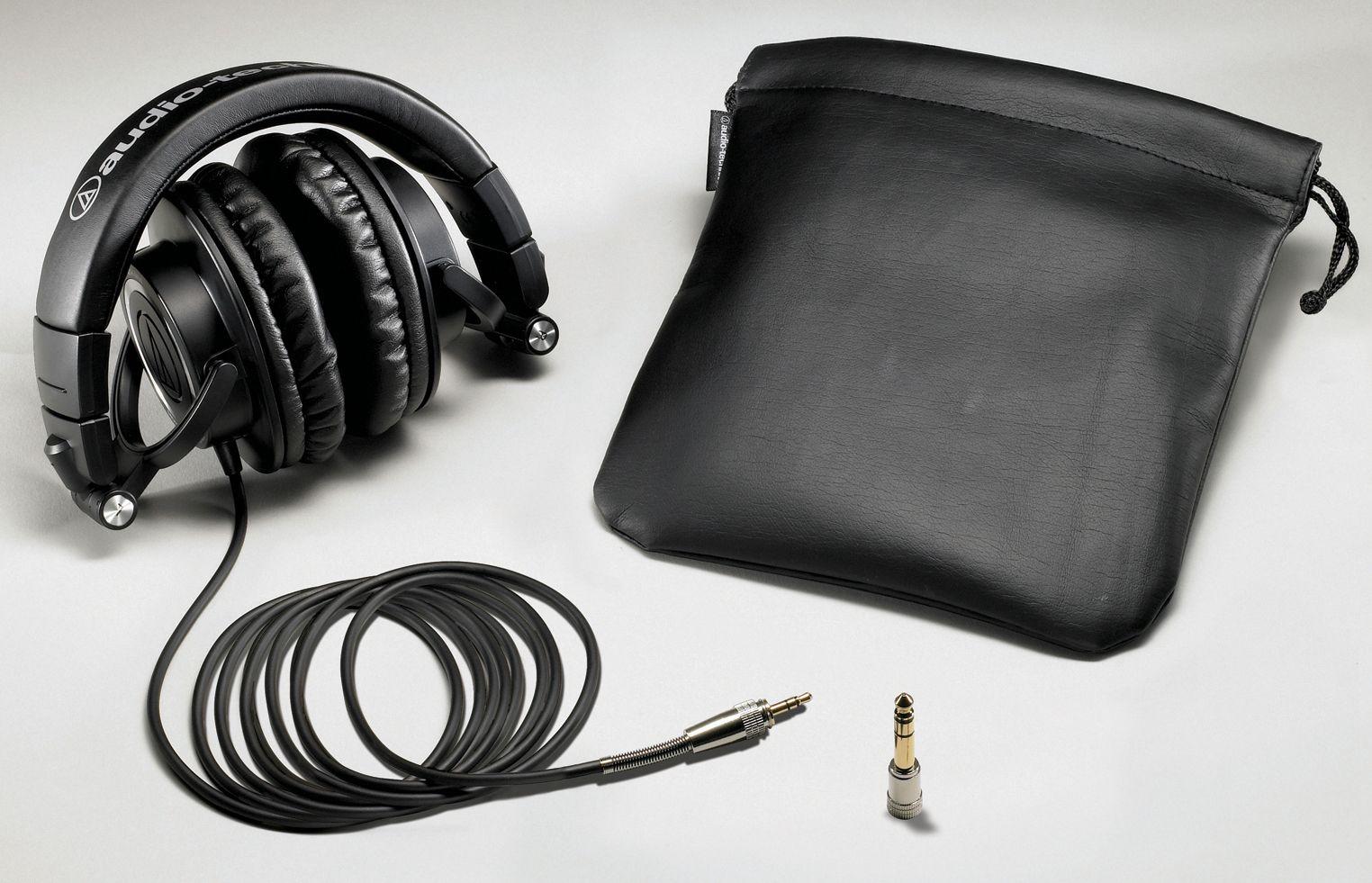 Слушалки Audio-Technica ATH-M50 - черни - 4