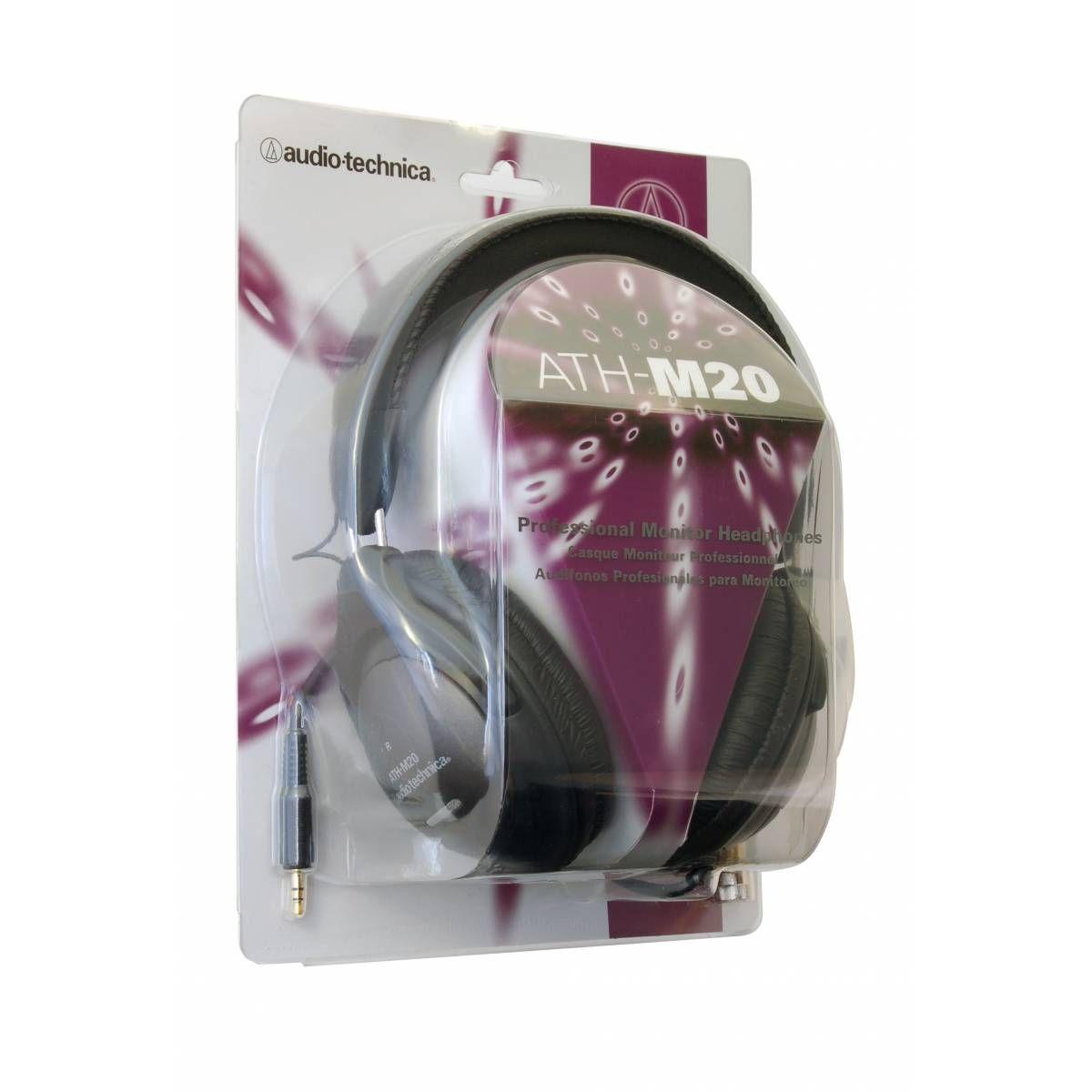 Слушалки Audio-Technica ATH-M20 - 5